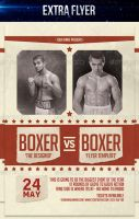 Boxers Night Flyer by LouisTwelve-Design