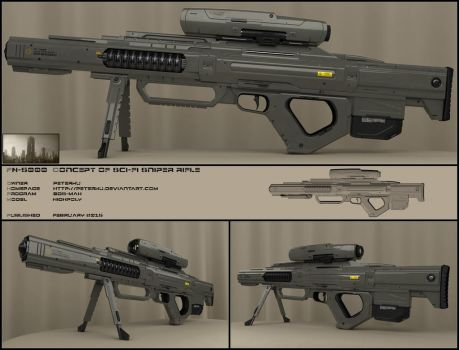 F5000 sniper rifle by peterku