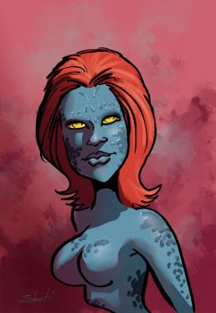 Mystique warm up by greasystreet