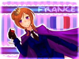 Nyotalia:: France by Dreamy-sempai