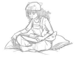 SRU Sketch - Meng Beifong by Destiny-Smasher