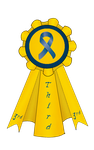 3rd Place CCA Mini Show Ribbon by s1088