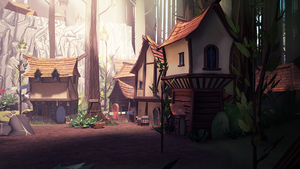 Forest Town by Marekx