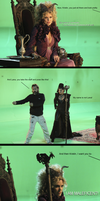 Once upon a time fun with Regina and Maleficent 2 by Hellraiser-89