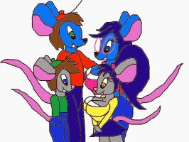 the Ratburg Family by bluemousem