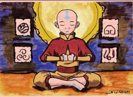Wisdom of the Avatar Aang by mondamo
