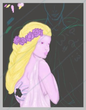Persephone and Hades WIP2
