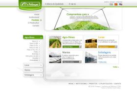 Poliagro Website- 5 Products by Pedrolifero