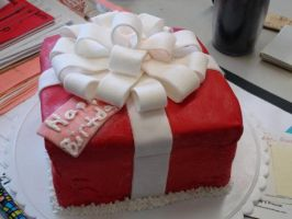 Birthday Cake for Mom by Lzee