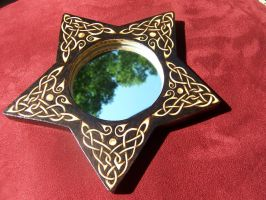 Celtic Star Mirror by parizadhe