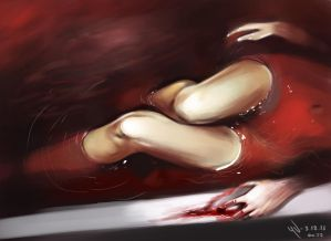 Blood Bath photostudy from reference by vurdeM