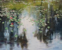 Lily Pond by artsaus