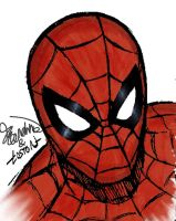 Spiderman (collaboration with Loston Wallace) by Joey-GB-316