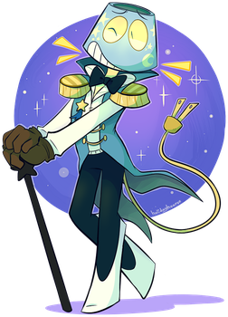 [AT] HANDSOME LAMP MAN by holidayhearse