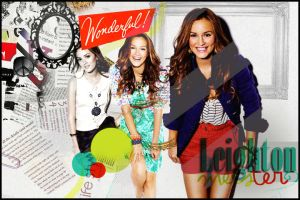 Leighton Meester. by Fleur-Vent