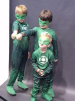 Baby Green Lantern Corps by Santy-Orm