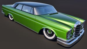 1961 Mercedes Benz 300SE Coupe by SamCurry