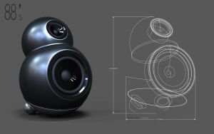 88 speaker design by 3DEricDesign