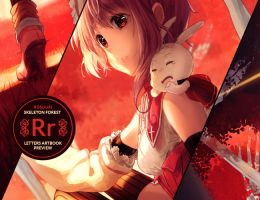 PREVIEW - Letters Artbook by Rosuuri