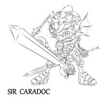 RQ Incomplete - Sir Caradoc LA by RaptorTheHawk