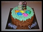 Easter Basket Cake by Tizette-Creations