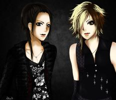 Rqst: Aoi and Uruha by hihen