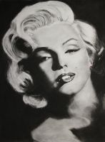 Marilyn Monroe by candysamuels
