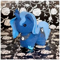 MLP - Princess Luna Itsy-Pony Plush by mihoyonagi