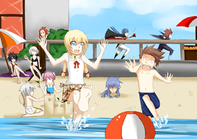 Tales of symphonia beach by alice-brabbit