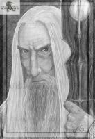 Saruman - done after 4 years- by Sythgara