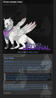 Kipachie journal skin :commission: by AkaPanuka