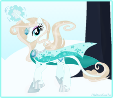 Frozen Heart (New Unicorn Oc) by NightmareLunaFan