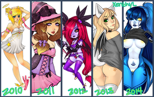 yick yuck 2010-2014 by xenthyl