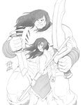 Skaar: Son of Hulk and Avatar Korra- By CallMePo by GorillaKing18