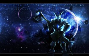 Nasus - League of Legends by nmoreKharon