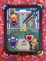 Legend of Zelda -  Perler beads by bGilliand