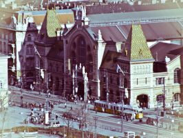The Grand Market Hall Budapest by 5haman0id