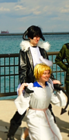 APH Cosplay-America/England-Opposites Attract by nursal1060