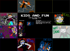 Homestuck: Kids n Fun SPOILERS by AgentMidnight
