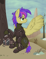 A Day In The Wastes by Catnipfairy