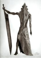 Pyramid Head by GrimShady