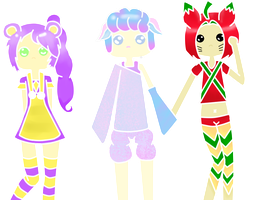 Sweets-themed Adoptables OPEN! by UnwiserSmile