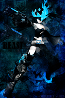 Black Rock Shooter #3 by Shareeza-Ree