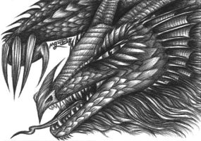 Thokdragon - Ballpoint pen by machine-guts