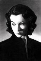 Vivien Leigh IV by molibali