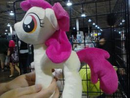 Apple Bloom plush by rainetomoe