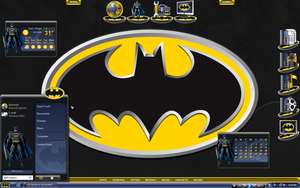 Batman Desktop by a666a