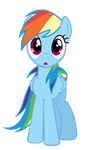 Rainbow Dash Vector by TryHardBrony