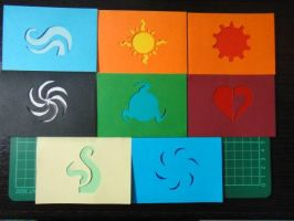God Tier Aspect Bookmarks by Eon-Flamewing