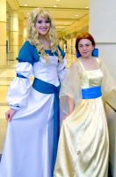 Two Princesses Megacon 2010 by rosequartz